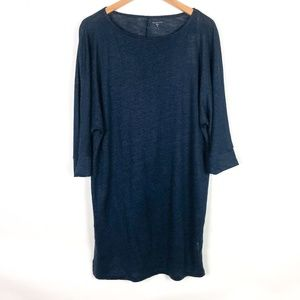 NWT Garnet Hill Organic Linen Cover-Up Dress